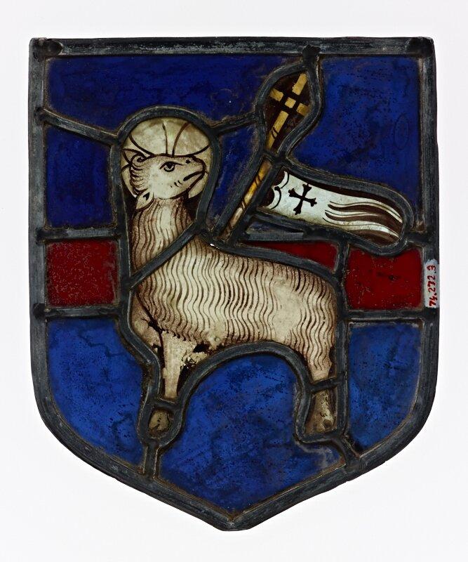 Heraldic Shield with the Agnus Dei