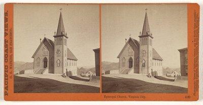 Episcopal Church, Virginia City.