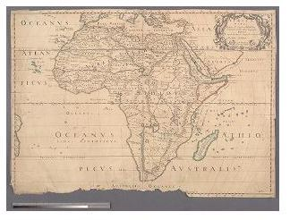 The Maps of Nicolas Sanson, 1600-1667 | Maps of Africa: An Online ...