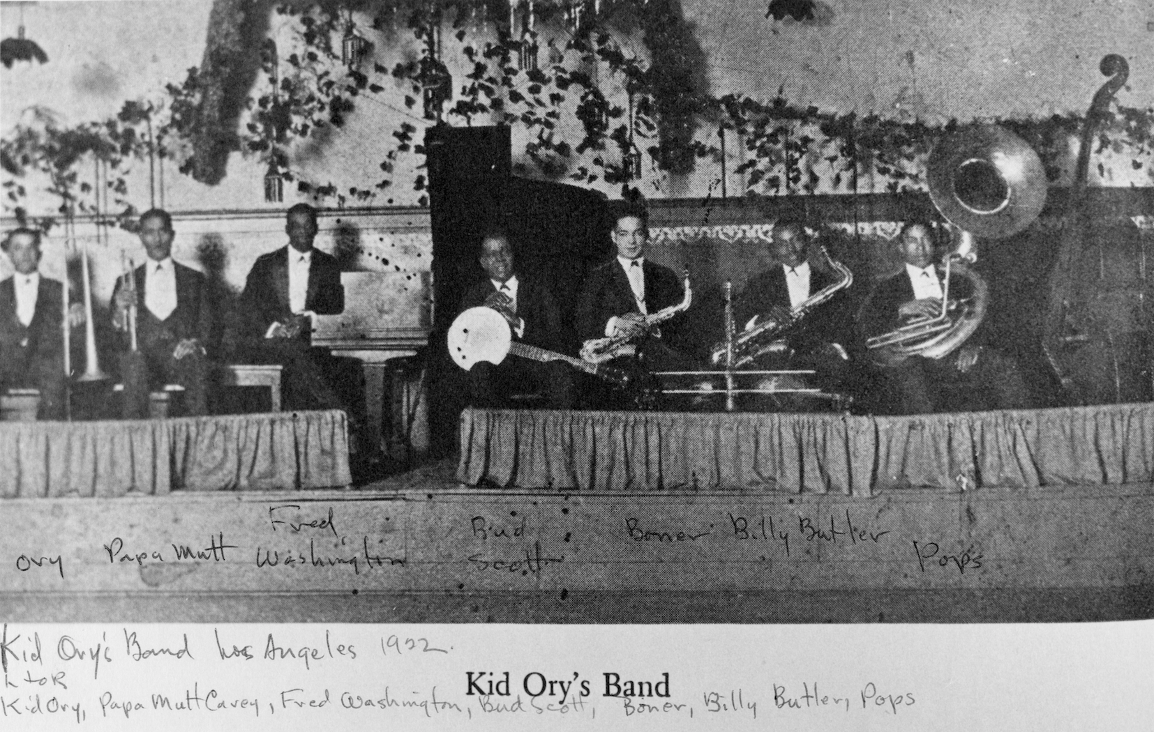 Kid Ory | The San Francisco Traditional Jazz Foundation